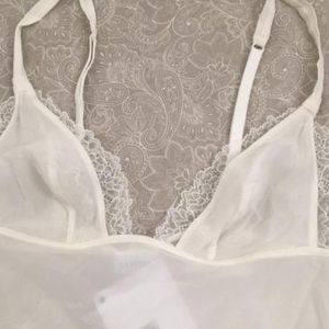 La Perla Intimates & Sleepwear - La perla Silk Chemise Teddy Slip